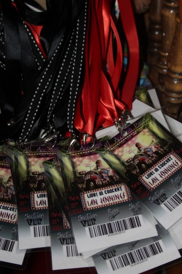 Back Stage Passes