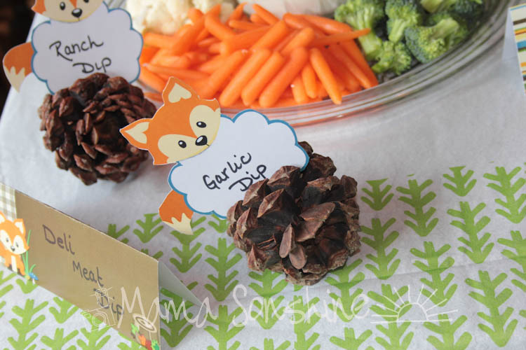 Little Fox Baby Shower