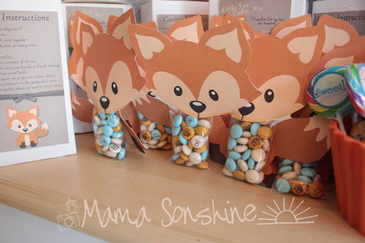 little fox baby shower mama sonshine