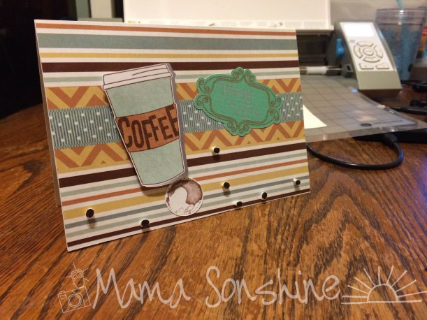 Thanks A Latte card by Mama Sonshine