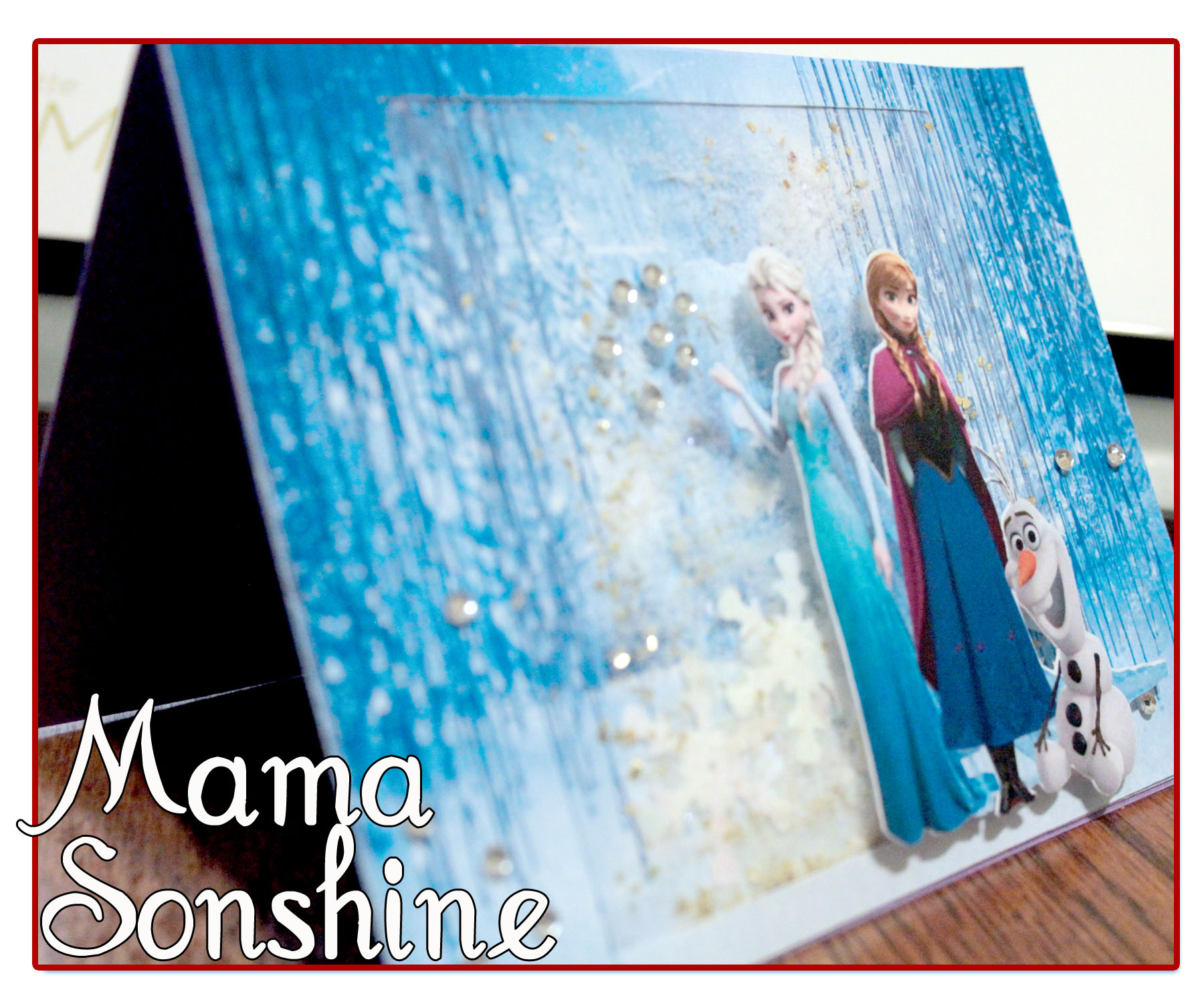 Tremendous Frozen Birthday Card I Tri And Craft Birthday Cards Printable Benkemecafe Filternl