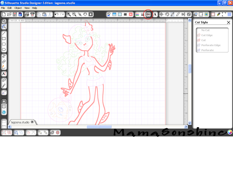 How To Sketch From A Coloring Book Page With Your Silhouette I Tri And Craft