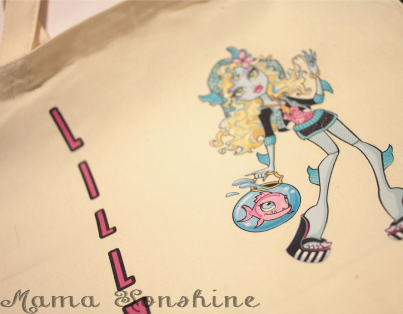 Lagoona Blue Tote Bag