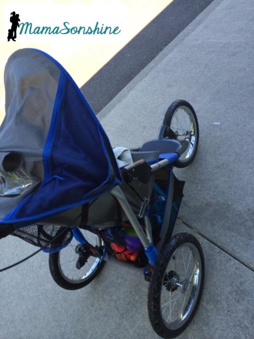 my 'new' stroller