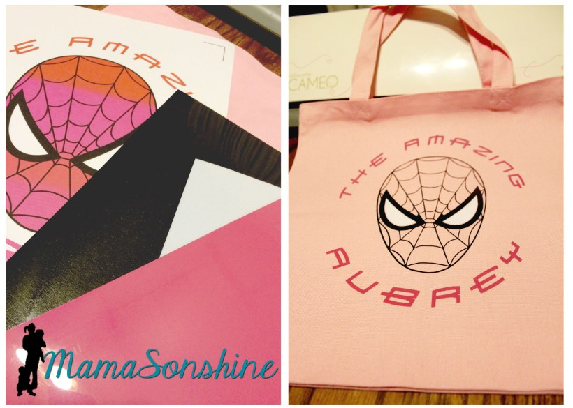 Girl Spiderman Bag