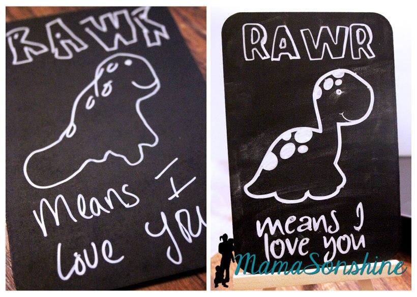 Mini-Chalkboard Art @ MamaSonshine