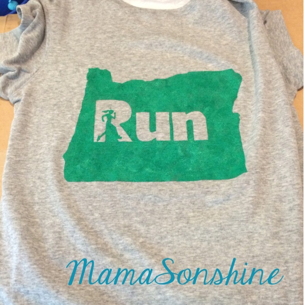 Oregon Runner Shirt