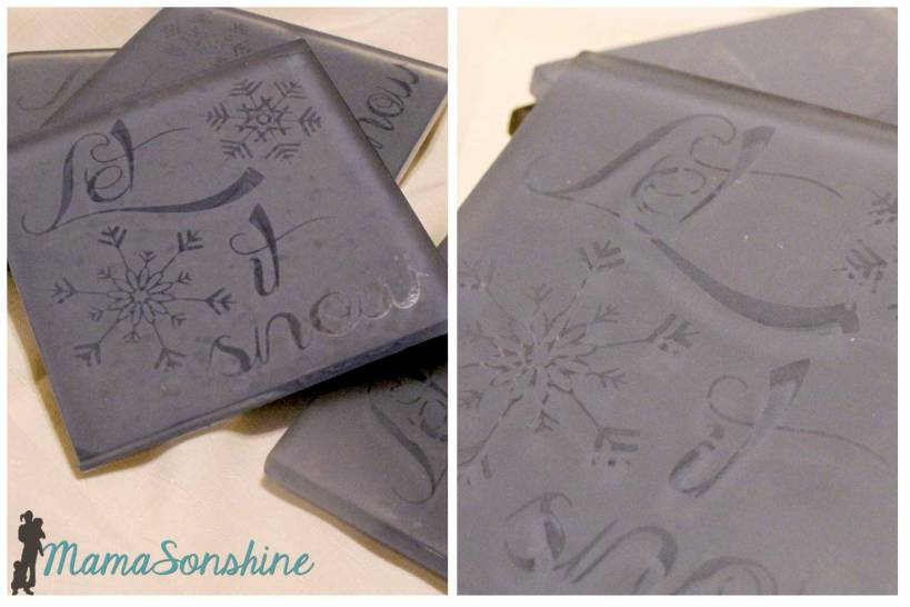 MSS_Etched Glass Tile Coasters