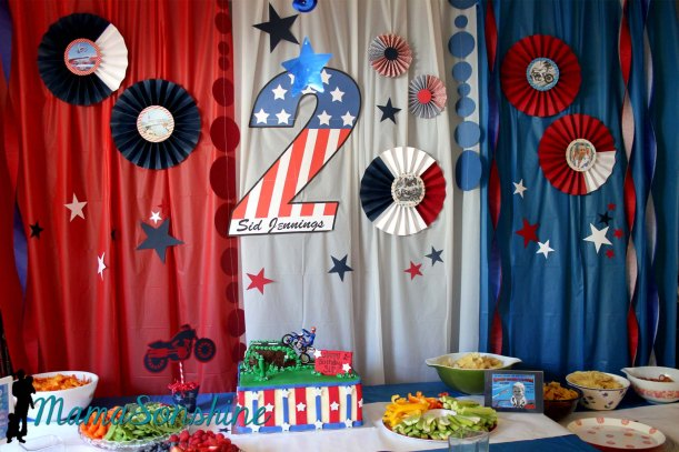 Evel Knievel Party Decorations
