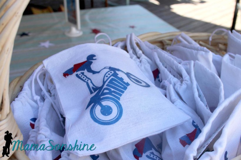 Evel Knievel Party Favors
