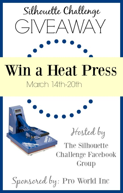 Win A Heat Press SC