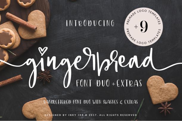 Gingerbread Font